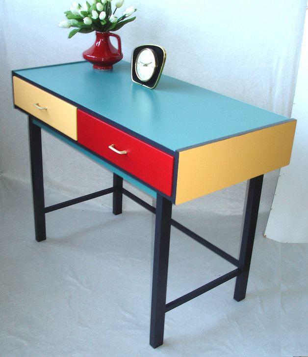 Schreibtisch Vintage Look 2021