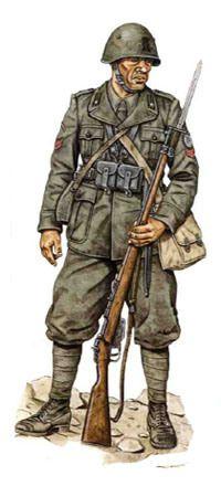 """Regio Esercito - Caporale, 31° Reggimento Fanteria, Divisione""""Siena"""", Grecia 1940-41"""