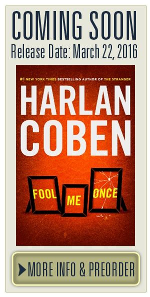 Fool Me Once. Harlan Coben. I was pulled in the first chapter and had a tear in my eye on the last page. Great book!!