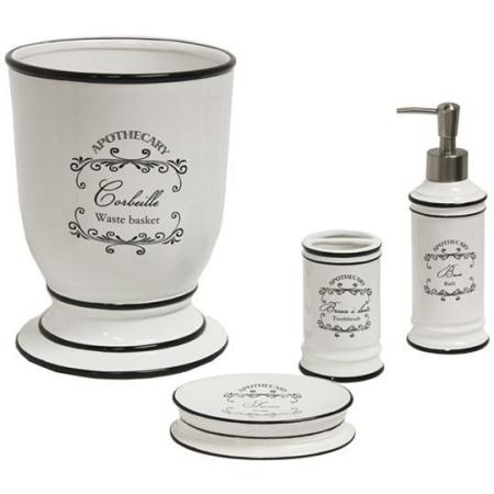 French Apothecary Bath Accessories 13 Pretty French