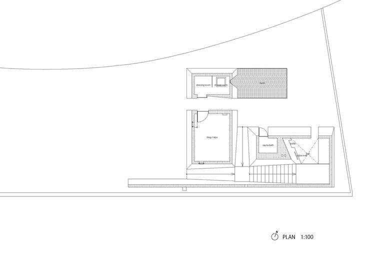 Zenkonyu × Tamping Earth (Work in the Setouchi Triennale 2013),Floor Plan