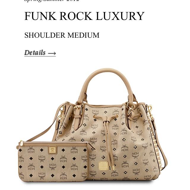MCM <3 my next purchase