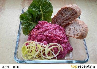 Červená řepa-salát recept - TopRecepty.cz