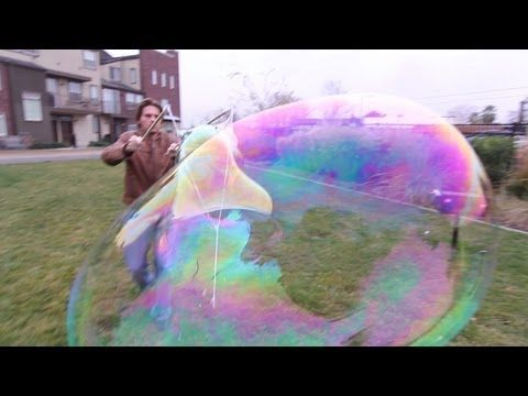 Scientific Super Bubbles ~ This is soo cool, can't wait to try it. That might happen BEFORE the camping trip!