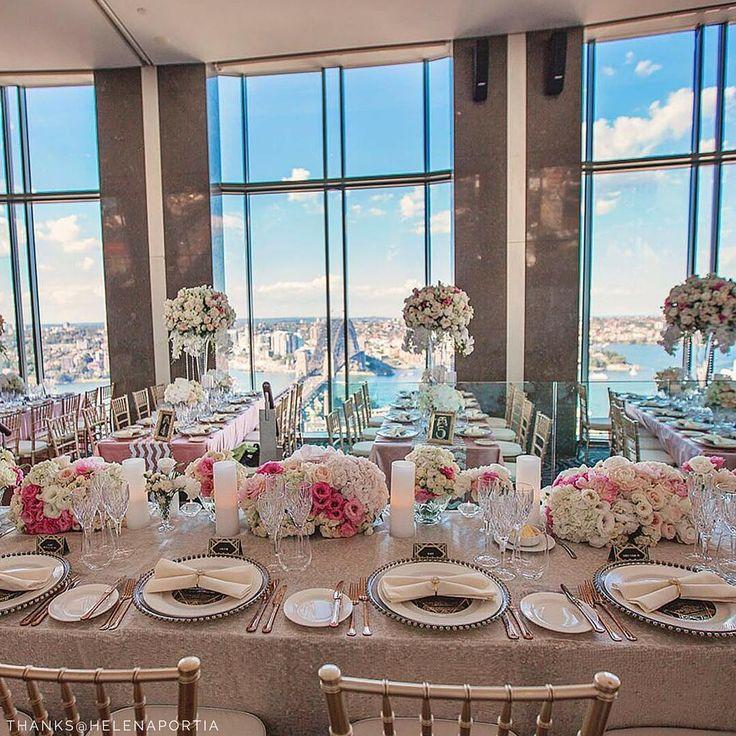 Stylish Set Up Stunning Views Of Sydneys Harbour Wedding Wow Factor