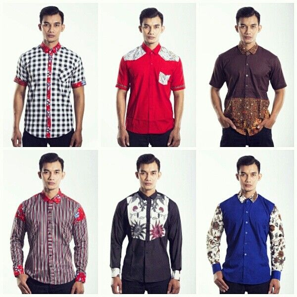 Mavazi Javanese Batik for men spring summer 2015