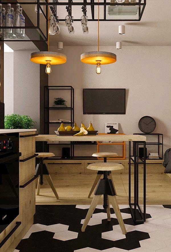 17 mejores ideas sobre cocina de un apartamento pequeño en ...