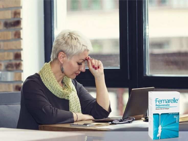 Sudden decreases in sleep and energy levels can be signs of estrogen decline. Learn how Femarelle® Rejuvenate can help.