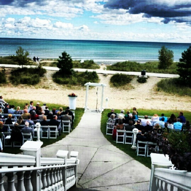Beach Wedding Ceremony Michigan: 73 Best K & M Wedding Images On Pinterest