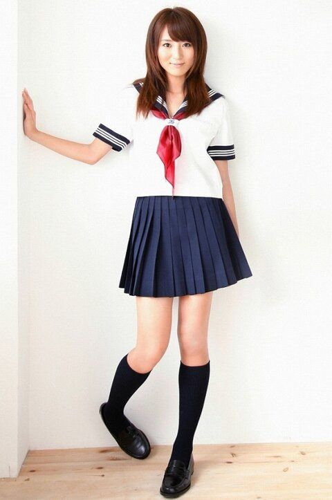 X aisian uniform fetish
