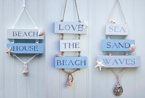 Handmade Coastal Beach House Decor Signs by Driftwood Dreaming