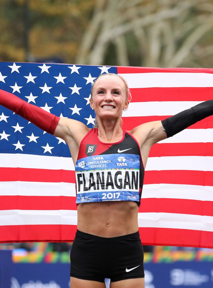 Shalane Flanagan Is The First American Woman In 40 Years To Win The New York Marathon+#refinery29