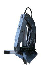 ROV arm, subsea tool, manipulator arm, aluminium Sørskår Mek. Verksted AS