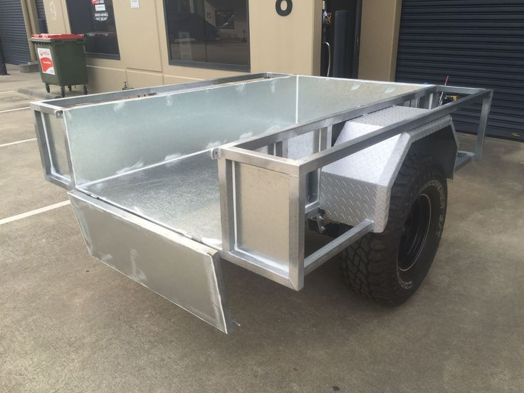 how to build a utility trailer box