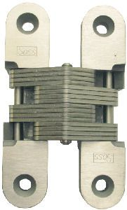 Soss Solid Stainless Steel Hinges, Medium Duty