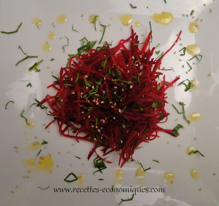 betterave crue sauce miel (2)