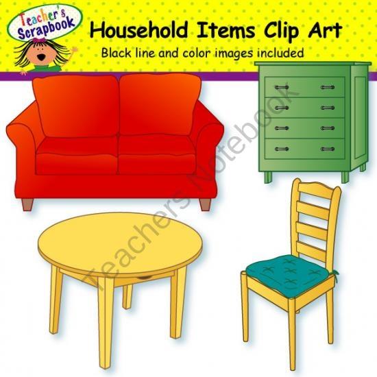 house items clipart - photo #28