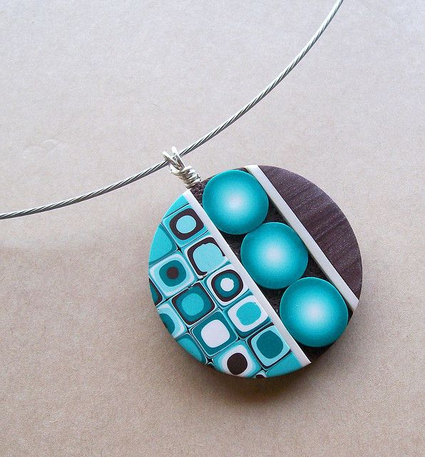 This one is one of my favourite...    Circle Pendant by K. Hernandez