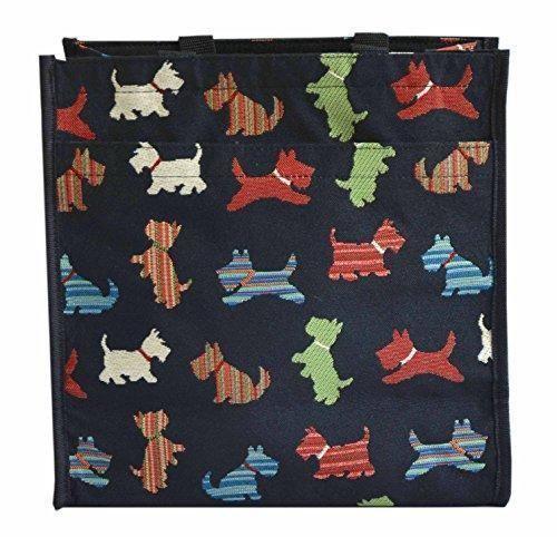 Oferta: 15.99€. Comprar Ofertas de Bolso tapiz Shopper de moda Signare para mujer bolso de hombro Animal (Terrier escocés) barato. ¡Mira las ofertas!