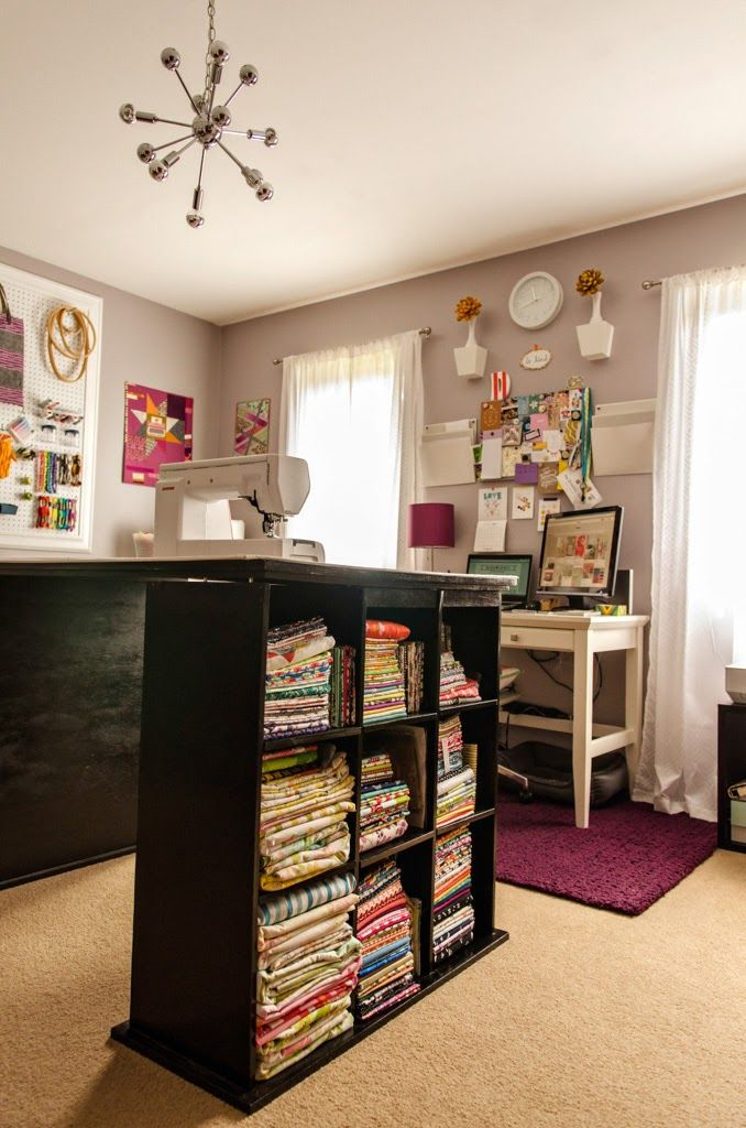 Bijou Lovely: studio spotlight. The most incredible sewing room in all the land!