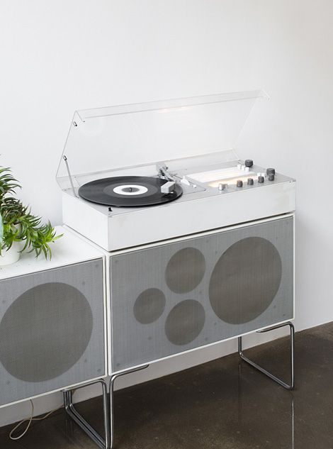 Braun Audio 1 HiFi set by Dieter Rams