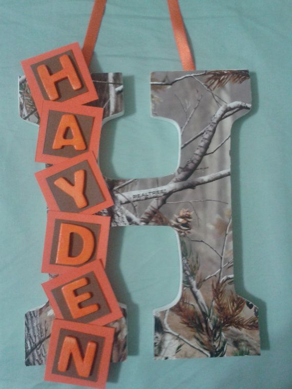 Wooden Wall Letter for Baby Kids Nursery Room by Letters4Littles