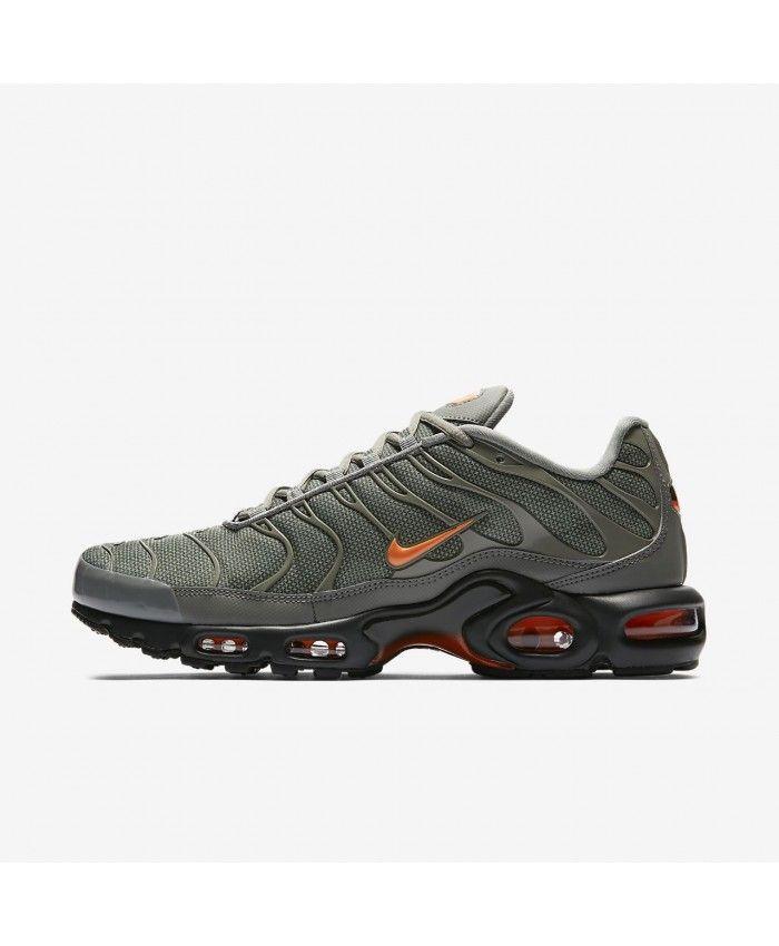 fdd0e70d17f99 Mens Nike Air Max Plus Se Dark Stucco Sequoia Total Orange Shoe ...