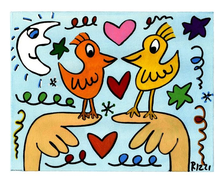 James Rizzi - Birds