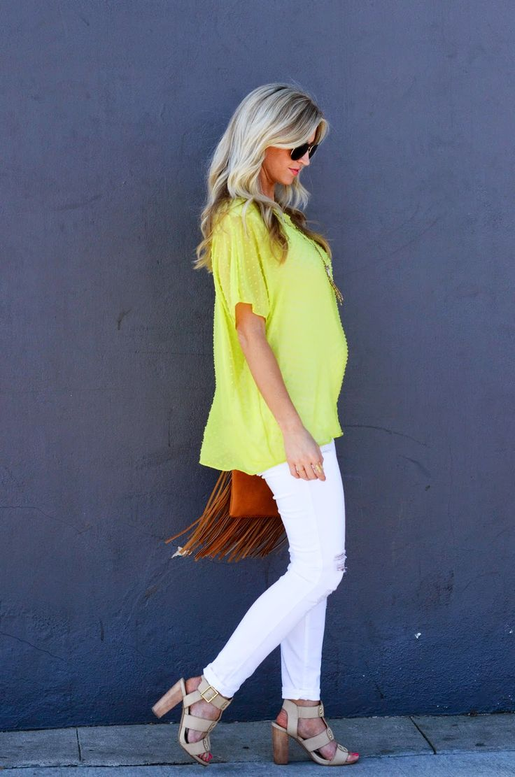 Chartreuse oversized top 303 best images about