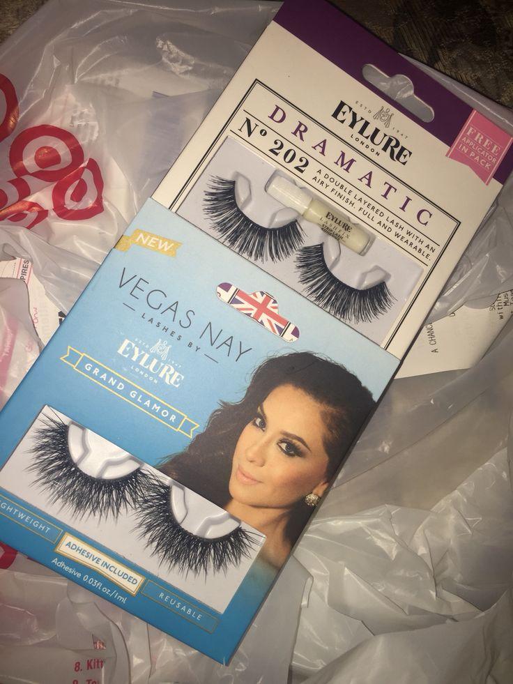 Love these Lashes I got! Vegasnay lashes eyelure