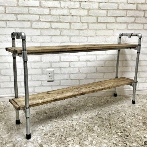 ガス管DIYで、クールで無骨なインダストリアル系家具を作ってみよう! | MAKIT!