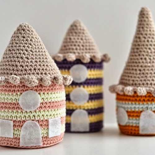 17 best ideas about crochet house on pinterest crochet - Casitas del bosque ...