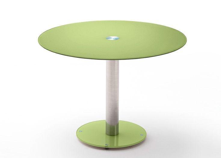 Tisch Falko Runder Glastisch Esstisch Bistrotisch Apfelgrun 22434 Buy Now At W Glastisch Esstisch Bistrotisch