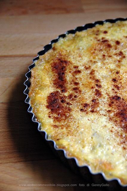 Crostata di latte e cannella                     #recipe #juliesoissons