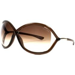 tom ford whitney sunglasses. brown. beautiful.