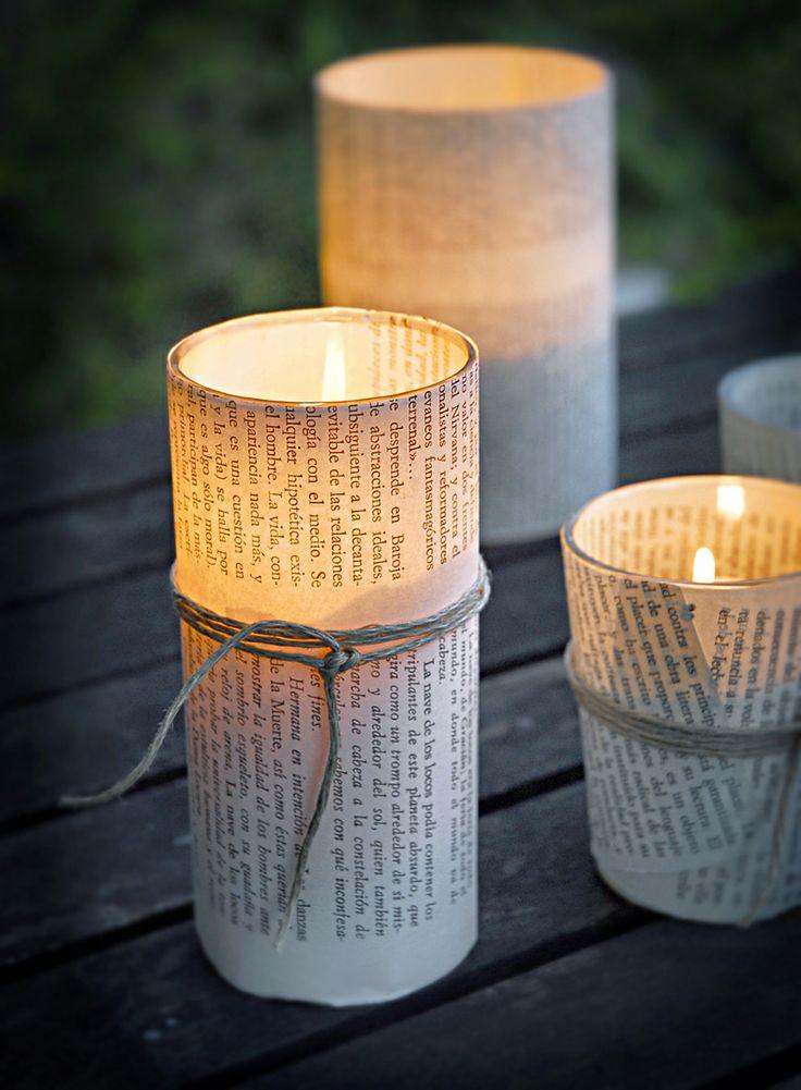 vasos de luz