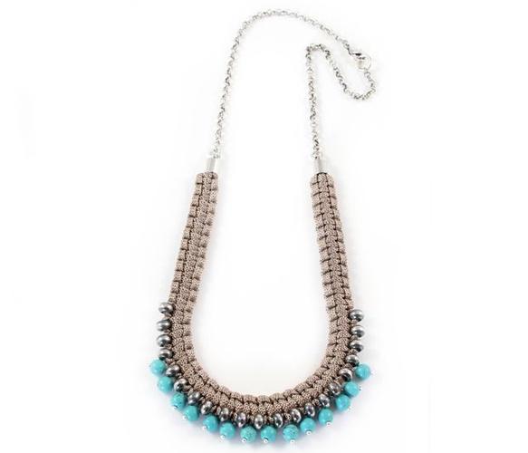 Sara NecklaceSilver Necklaces, Gorgeous Braids, Favorite Colors, Baubles Jewels, Fashion Diy Jewels, Necklaces Pretty, Jewelry, Sara Necklaces, Braids Necklaces