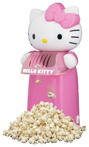 Hello Kitty - Hot Air Popcorn Maker - Pink/White