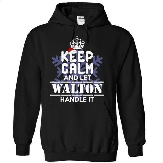 WALTON-Special For Christmas - #party shirt #sweater ideas. BUY NOW => https://www.sunfrog.com/Names/WALTON-Special-For-Christmas-gnyxv-Black-5173243-Hoodie.html?68278