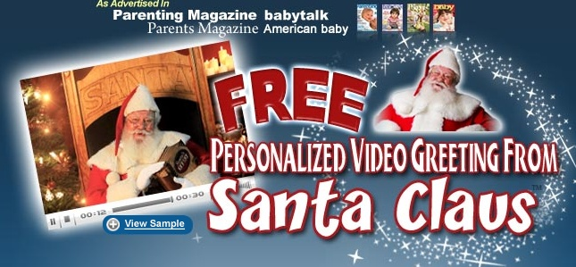 19 best free personalized santa video greeting images on pinterest amaze your child with a free personalized video from santa claus m4hsunfo