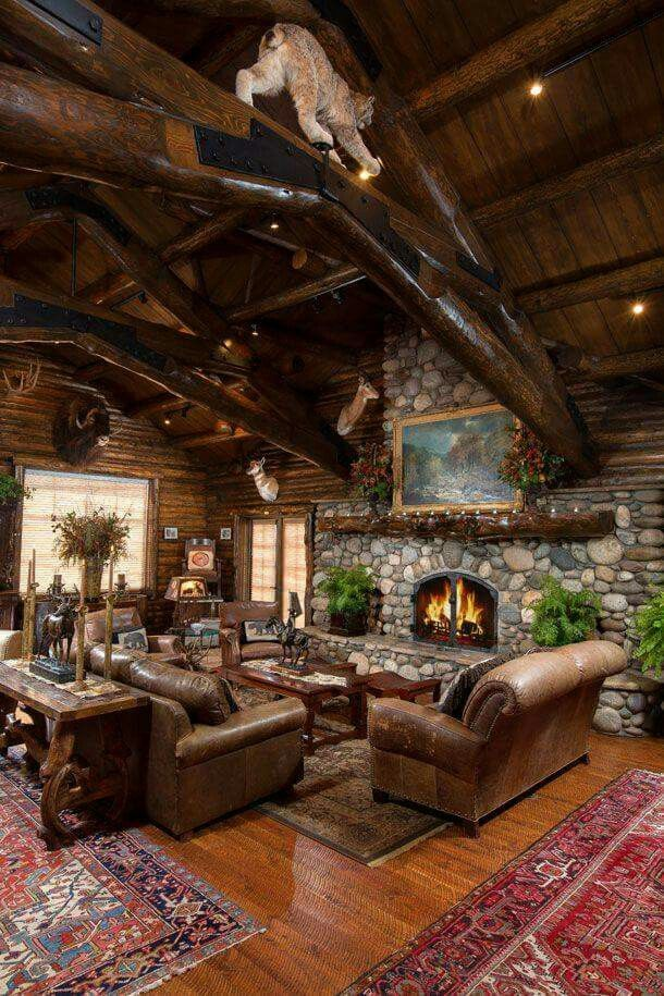 Best 25 hunting lodge decor ideas on pinterest hunting for Rustic hunting cabins