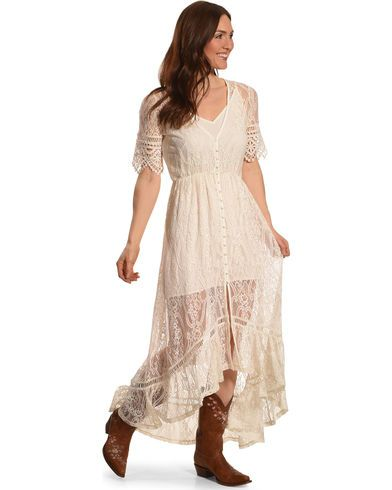 4e285d65f0f25c Shyanne Women's Allover Lace Button-Down Maxi Dress | Since I can't ...