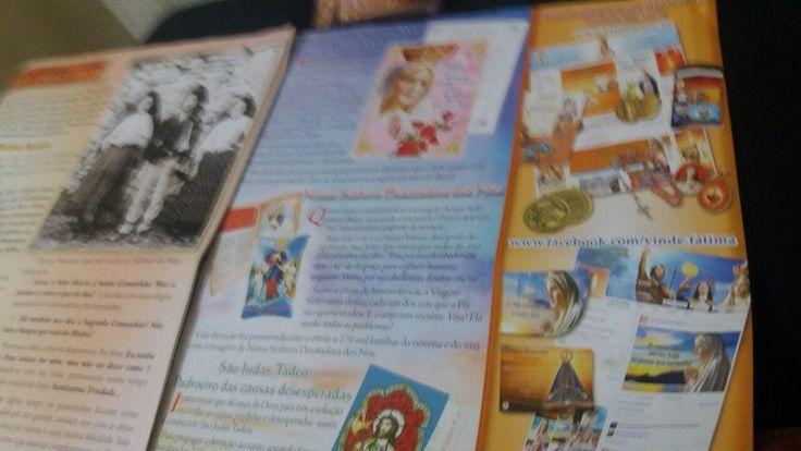 www.fatima.org.br www.santuario-FATIMA.pt www.facebook.com/vinde.fatima. E.Mail= fatima@fatima.org.br #www.GARABANDAL.com. www.MEDEJUGORJE.com #REGINADELLAMORE.org