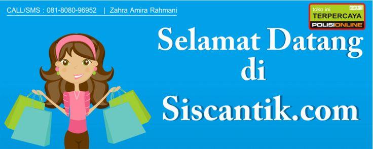 Siscantik adalah toko kosmetik online yang menawarkan berbagai macam produk kecantikan dan kesehatan wanita terlengkap dan terbesar no. 1 di Indonesia.