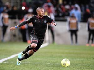Orlando Pirates midfielder Jali