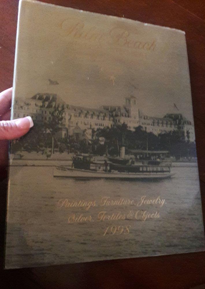 Palm Beach Florida International Art & Antique Fair Hardcover Book Program 1998
