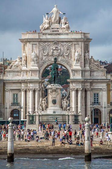 Praça do Comércio, Lisboa By Gonçalo Capitão