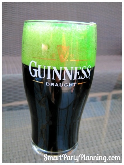 If baby #3 comes out before St. Paddy's Day, I'll be celebrating with a Green Beer!