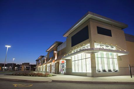 Strip mall renovation retail strip malls construction for Office 606 design construction llc