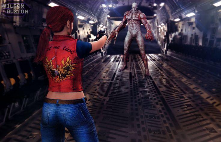 Resident  Evil Code Veronica by wilsonBurton20